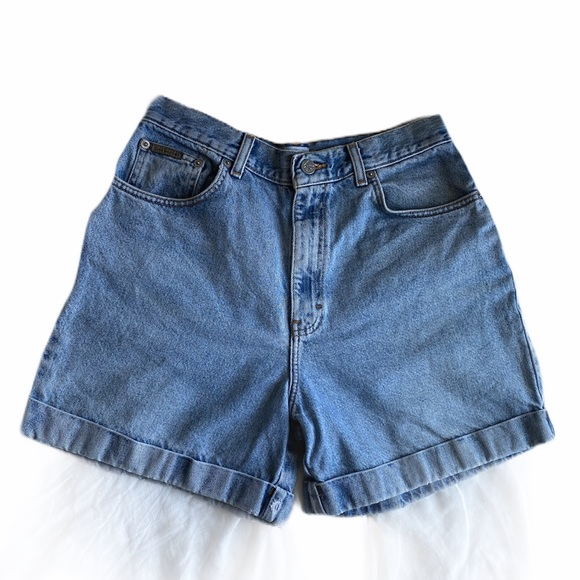 Calvin Klein Jeans Pants - Vintage Calvin Klein High Rise Jean Shorts 12